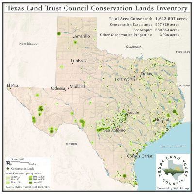 Conservation Lands Inventory – Texas Land Trust Council